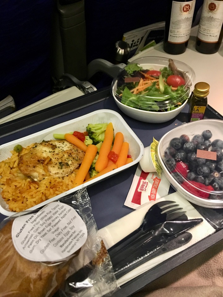 British Airways Review: Gluten Free Meals